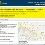 Best Buy store closure with coupons didn't work
