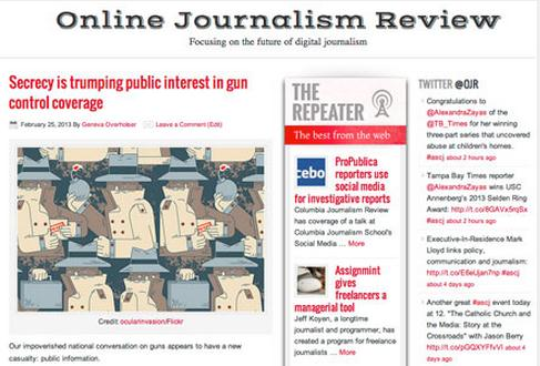 Online Journalism Review redesign