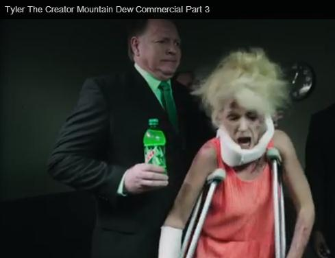 Mountain Dew ad is PR fail