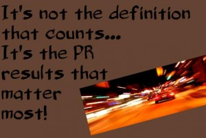 Results count in public relations