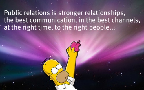 Public relations is...