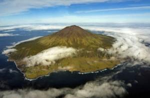 remote island Tristan Da Cunha
