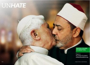 Pope Benetton ad