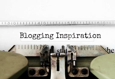 rediscovering blogging inspiration