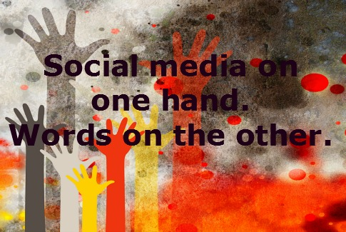 Words matter than the choice of social media