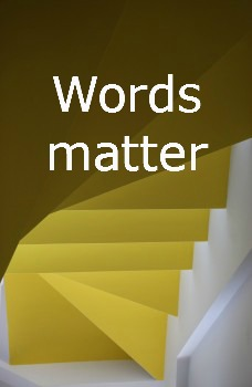 Words matter, tools don't